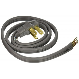 5' X 3 WIRE PRONG RANGE CORD - 40 AMP