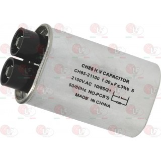 MICROWAVE CAPACITOR 1µF 2100 V-AC