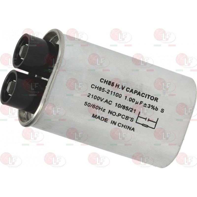 MICROWAVE CAPACITOR 1µF 2100 V-AC