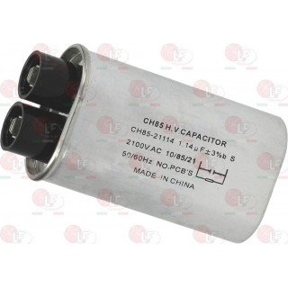 MICROWAVE CAPACITOR 1.14µF 2100 V-AC