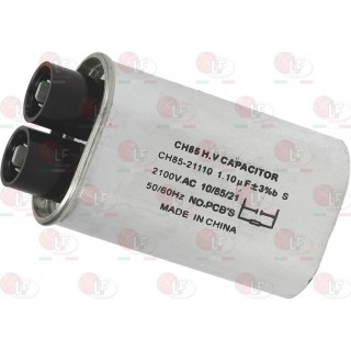 MICROWAVE CAPACITOR 1.10µF 2100 V-AC