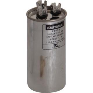 ROUND DUAL RUN CAPACITOR 40/7.5 MFD 370 V