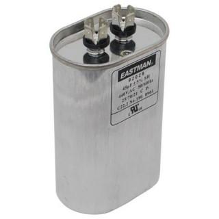 OVAL RUN CAPACITOR 7.5 MFD 370 V