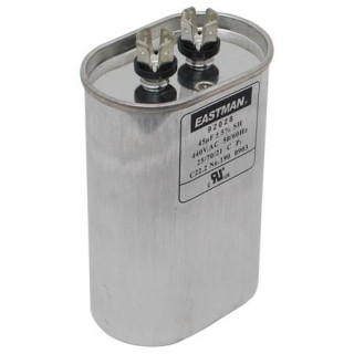 OVAL RUN CAPACITOR 10 MFD 370 V