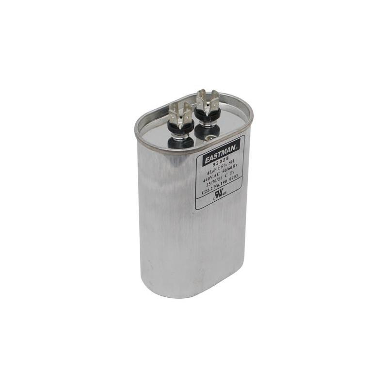 OVAL RUN CAPACITOR 15 MFD 440 V