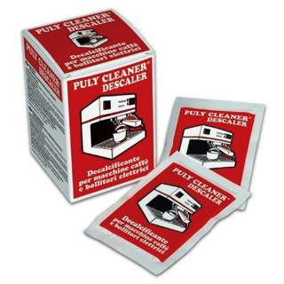 PULY CAFF CLEANER ESPRESSO MACHINE DESCALER - BOX OF 10 / 30g PACKS