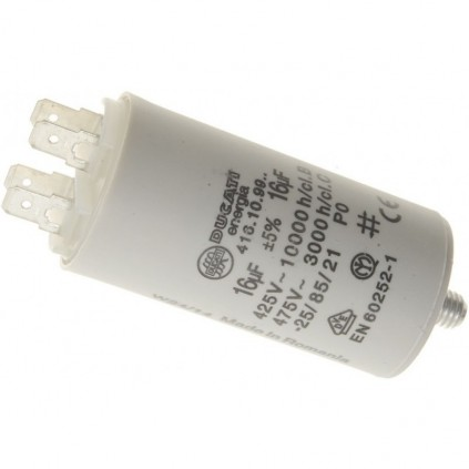 CAPACITOR ELECTRICAL 16µF