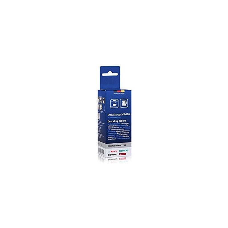 BOSCH 00311864 DESCALING TABLETS (1 BOX OF 6 TABLETS)