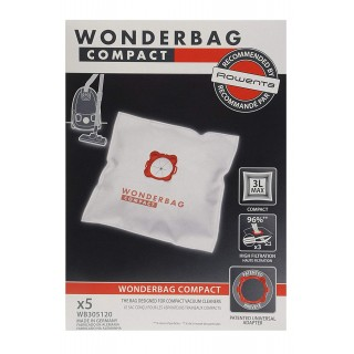 WONDERBAG WB305120 VACUUM CLEANER BAG x 5