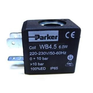 COIL PARKER WB4.5 6W 220/230V 50/60Hz