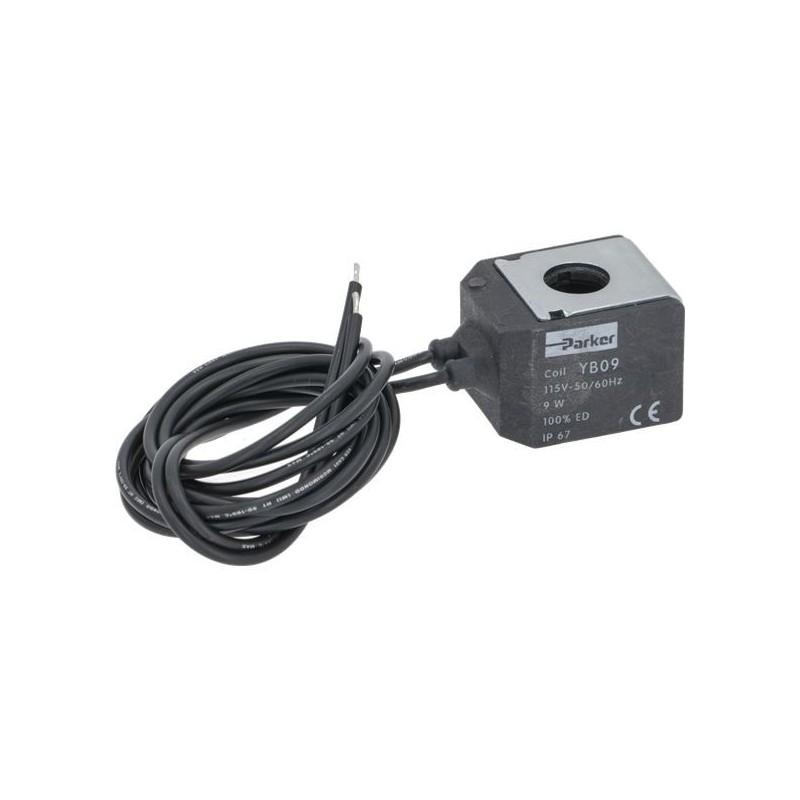 COIL PARKER YB09 115V 9W 50/60Hz