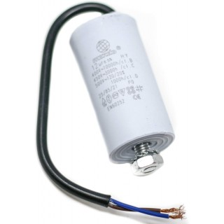 12 µF UNIVERSAL MOTOR CAPACITOR WITH CABLE
